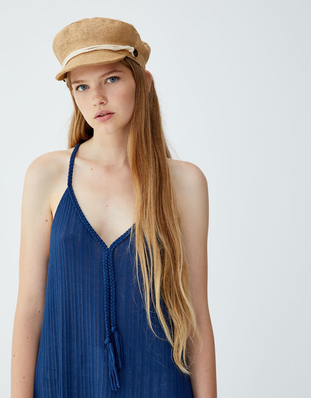 Pull & Bear - Dress with braided straps - 3