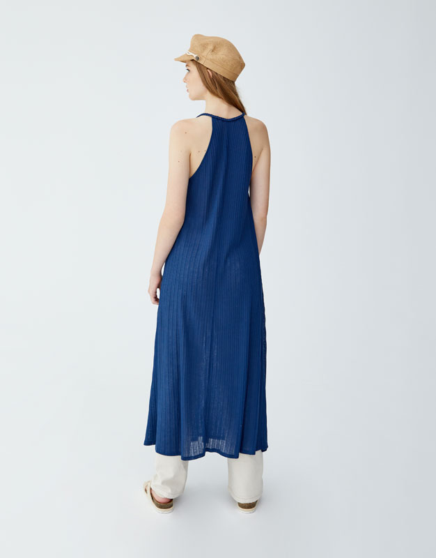 Pull & Bear - Dress with braided straps - 4