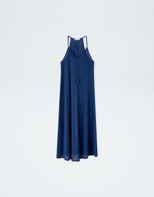 Pull & Bear - Dress with braided straps - 6