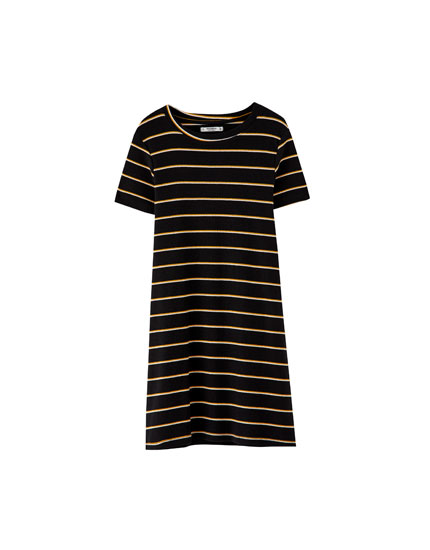 Basic striped dress