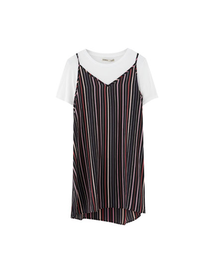 2-in-1 T-shirt dress