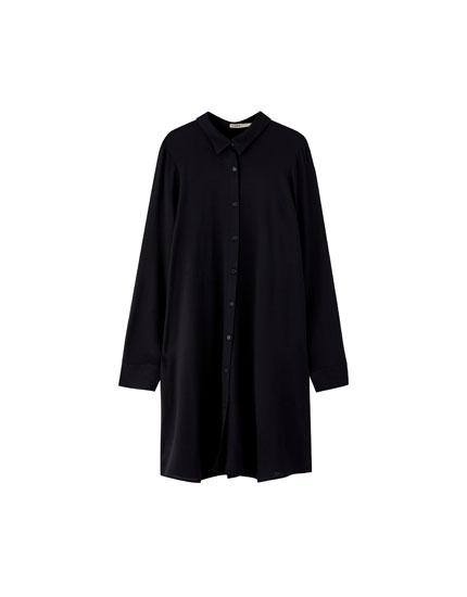 Shirt-style dress