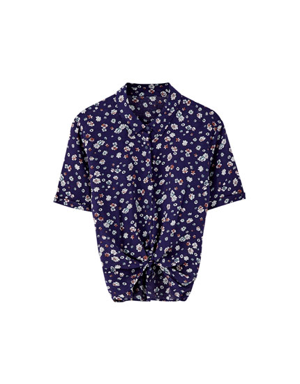 Basic printed shirt