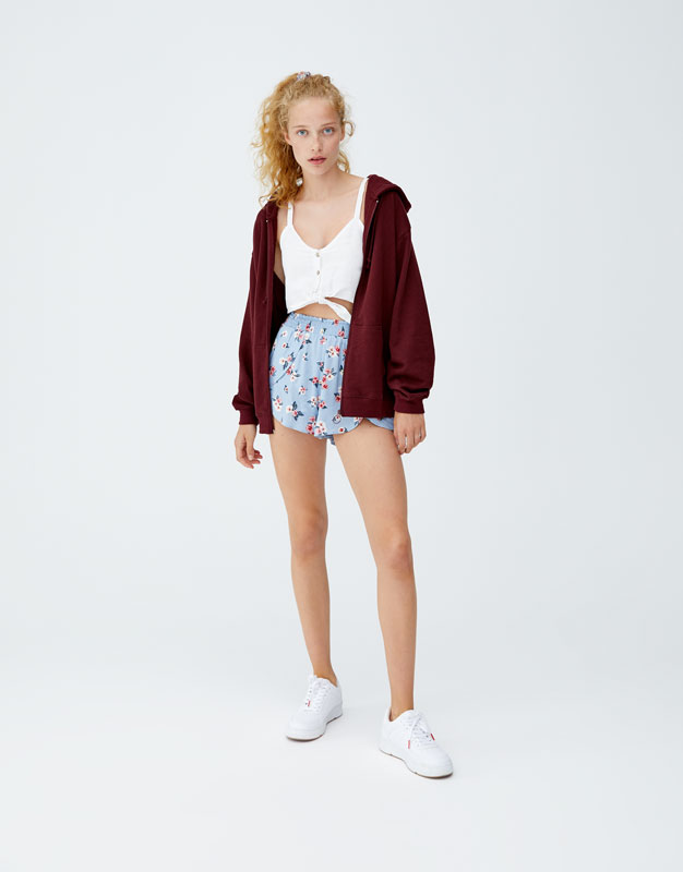 Pull & Bear - Top with front knot - 2