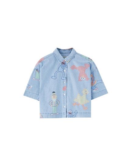Camisa Sesame Street
