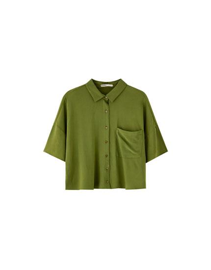 Vienkāršs 'oversize' stila krekls