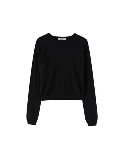 Vienkāršs mīksts džemperis