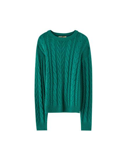 Sweater punto ochos
