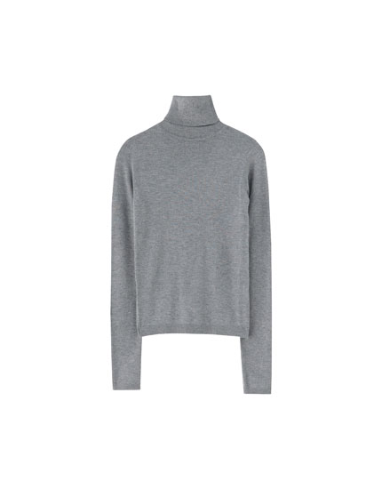 Basic roll neck sweater