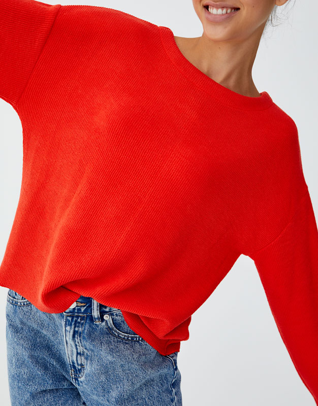 Multi Way Sweater by Pull & Bear