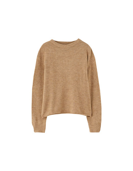 Basic soft sweater