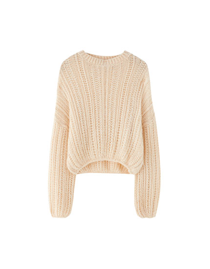 Join Life open-knit sweater