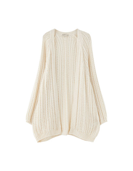 Join Life open-knit cardigan