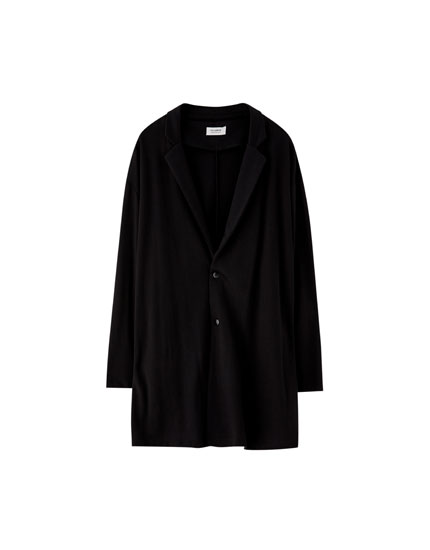Lapel collar jacket