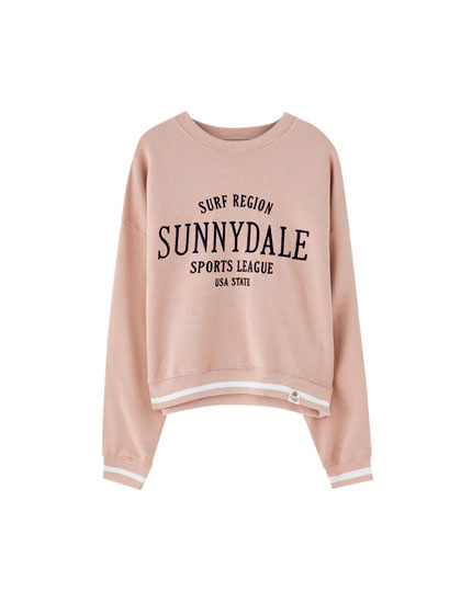 Embroidered Sunnydale sweatshirt
