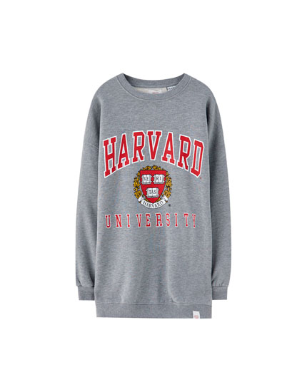 Harvard University varsity sweatshirt