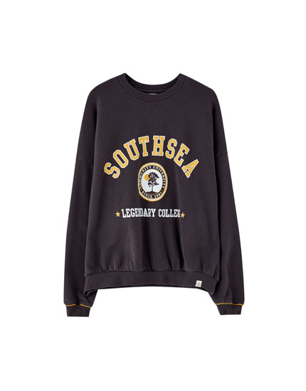Sweat style université américaine « Southsea »