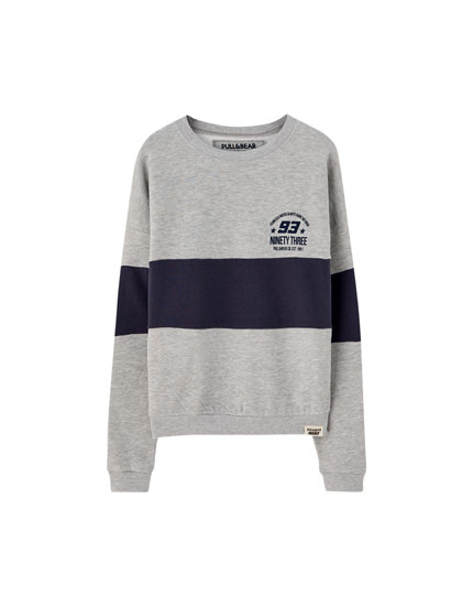 Marc Márquez colour block sweatshirt