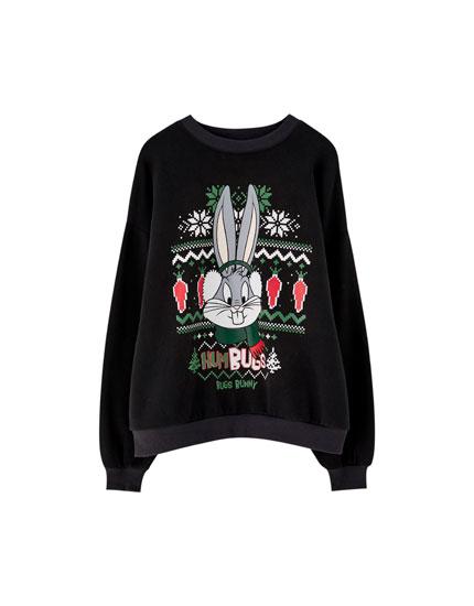 Bugs Bunny Christmas sweatshirt
