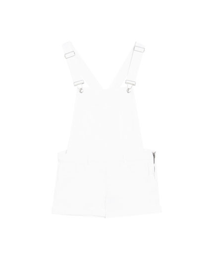 Basic coloured short dungarees