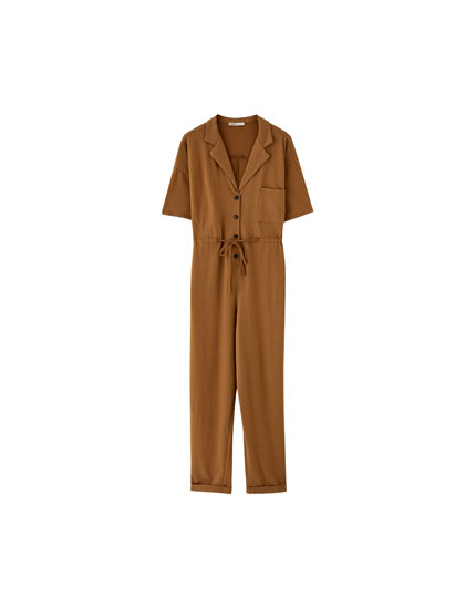 Fließender Workwear-Jumpsuit