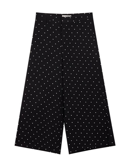 Basic culotte pantolon