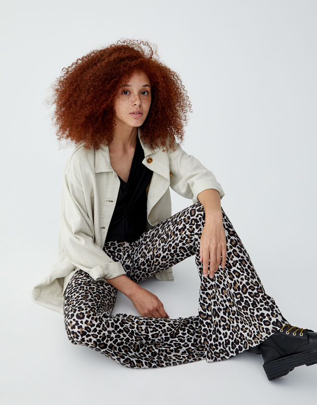 Bell Bottom Trousers by Pull & Bear