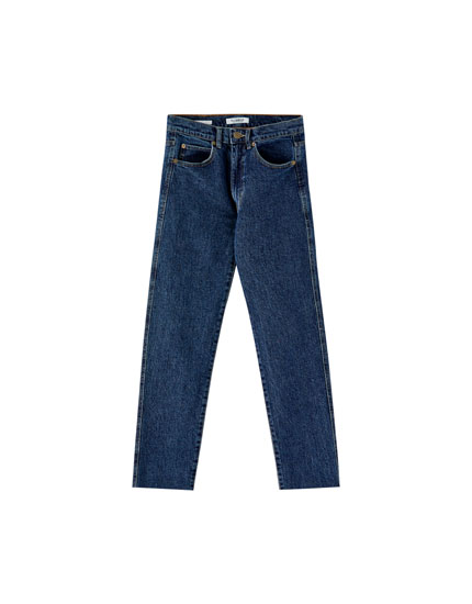 Skinny comfort fit mom jeans