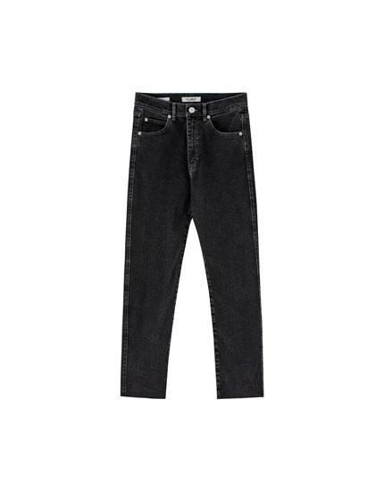 Skinny comfort fit mom jeans