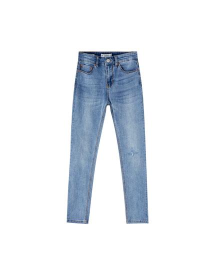 Jean coupe skinny petite