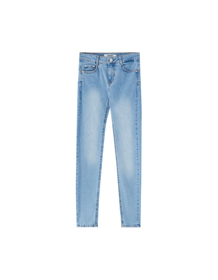 Jeans med push-up-effekt
