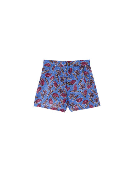 Short met allover print