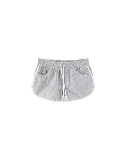 Cotton sports shorts