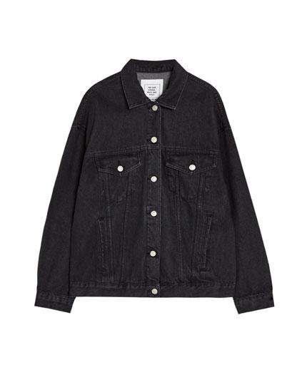 Liela džinsu jaka