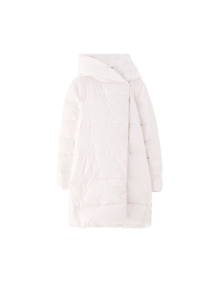 Long down puffer jacket