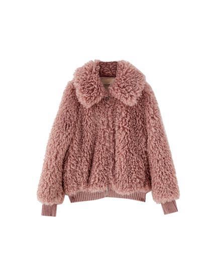 women 39 s outerwear autumn winter 2018 pull bear. Black Bedroom Furniture Sets. Home Design Ideas