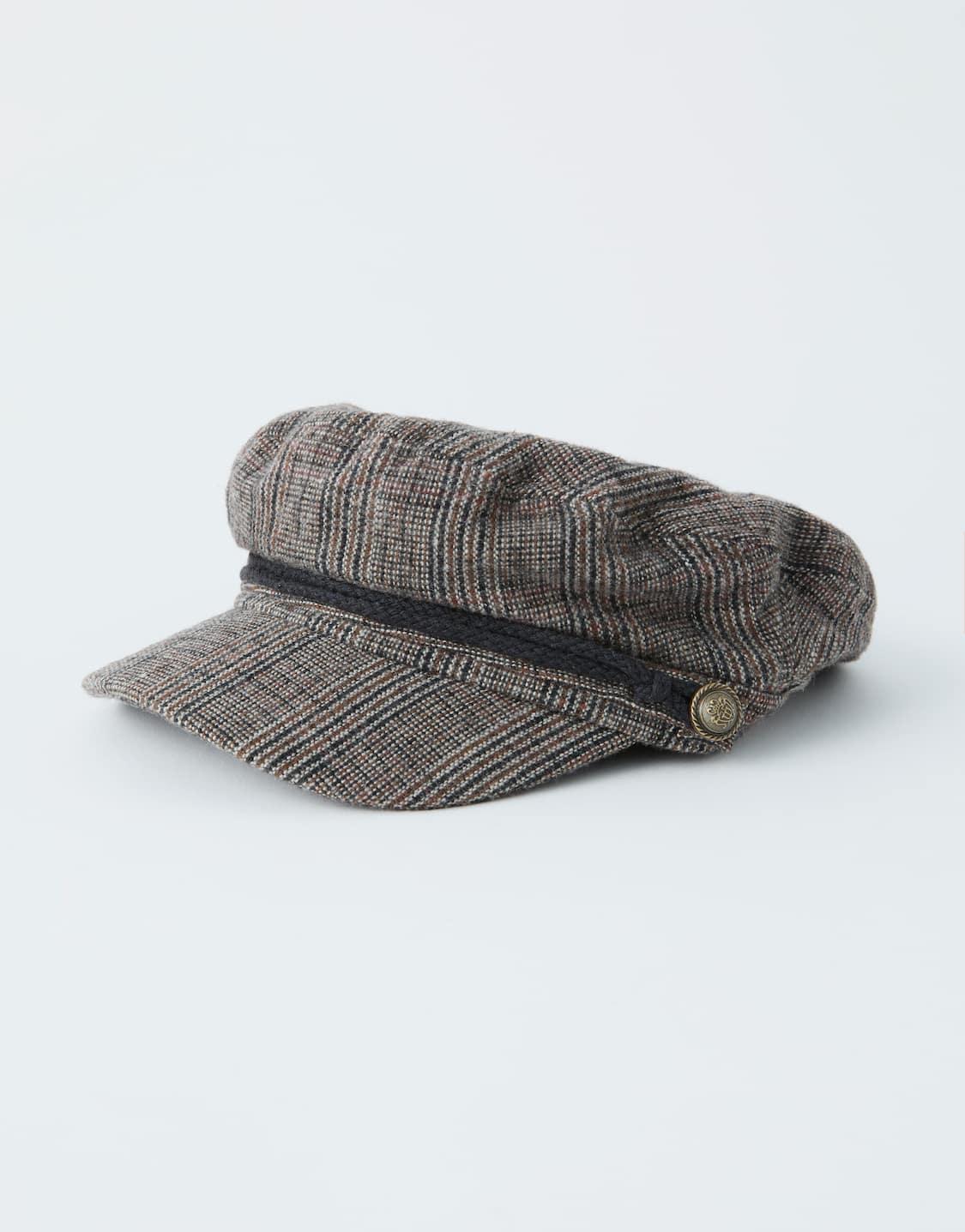 Cappello da marinaio a quadri - PULL BEAR 2eff334c8fda