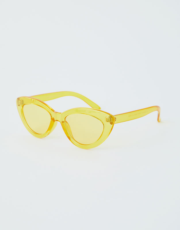 Lentes De Sol Cat Eye Transparentes by Pull & Bear