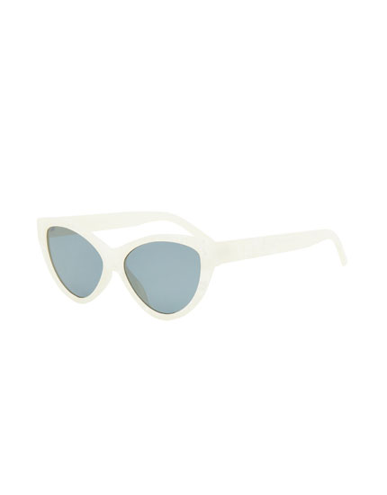 Gafas de sol cat eye nacaradas