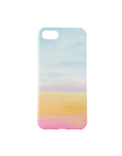 Sky print phone case