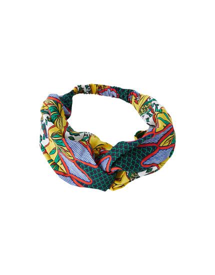 Tribal print bandanna