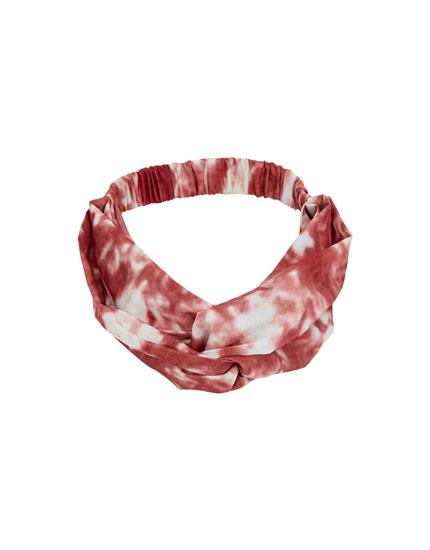 Tie-dye bandanna