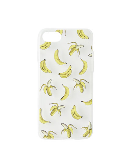 Banana print phone case