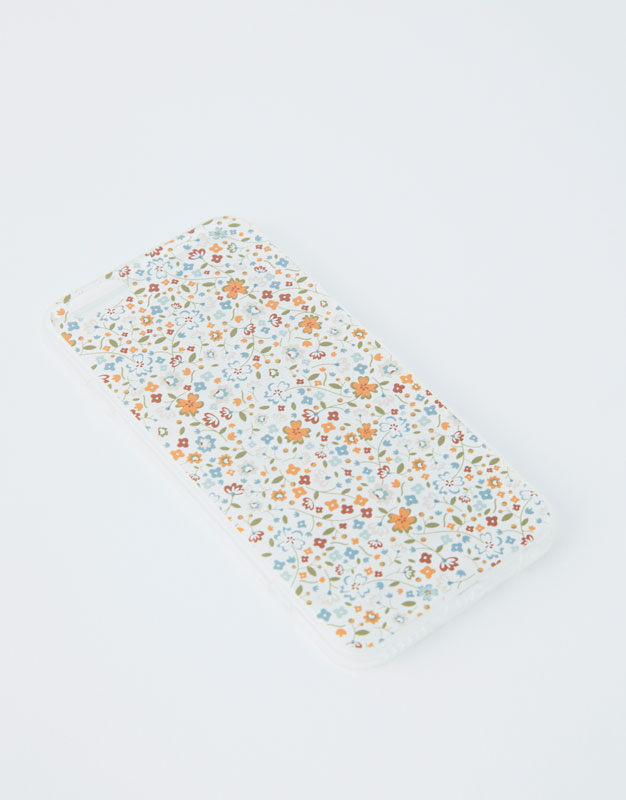 Pull & Bear - Smartphone-Hülle mit Blümchenprint - 4