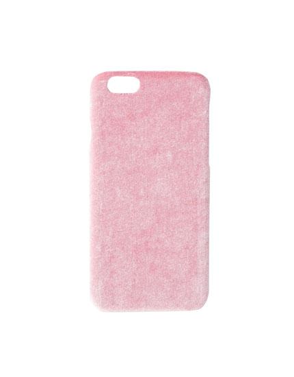 Velvet smartphone case
