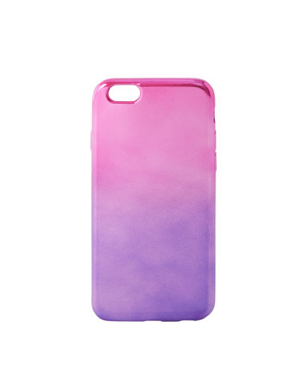 Metallic ombré phone case