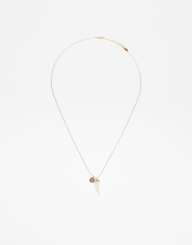 Tusk Necklace by Pull & Bear