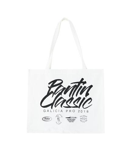 Pantín Classic logo fabric bag