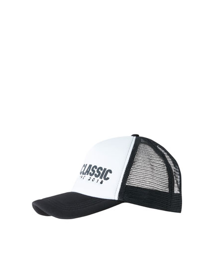 Pantín Classic contrasting mesh cap