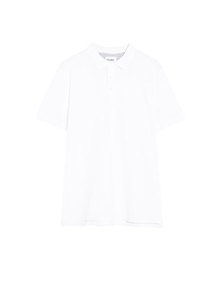 Basic polo yaka t-shirt